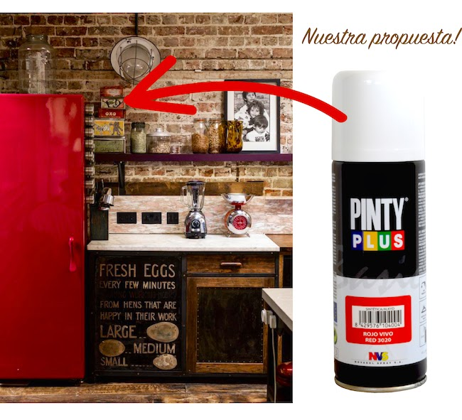 peindre un frigidaire avec nos sprays pintyplus basic. Black Bedroom Furniture Sets. Home Design Ideas