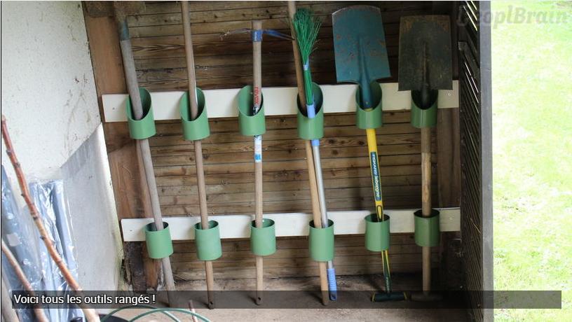 Rangement DIY pour le jardin