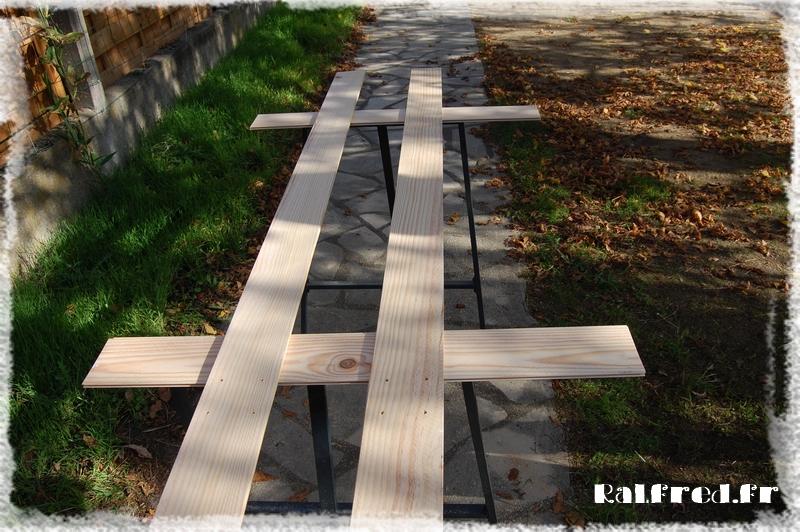 Vestiaire en bois DIY