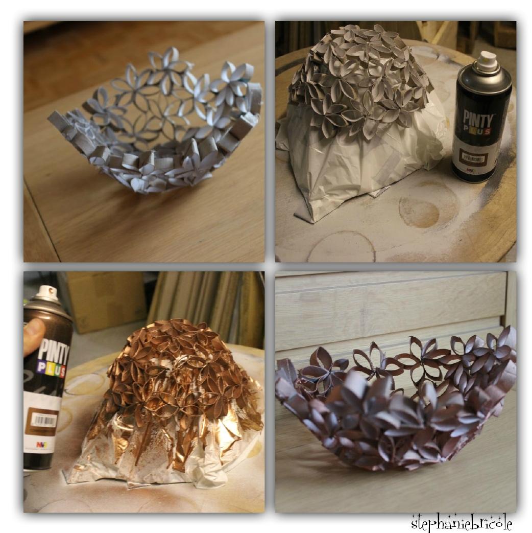 Corbeille en carton DIY