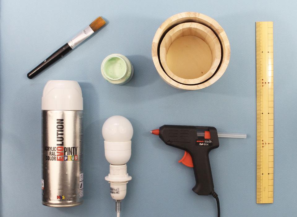 Une lampe en bois faire vous m me shaking colors for Fabriquer une lampe en bois