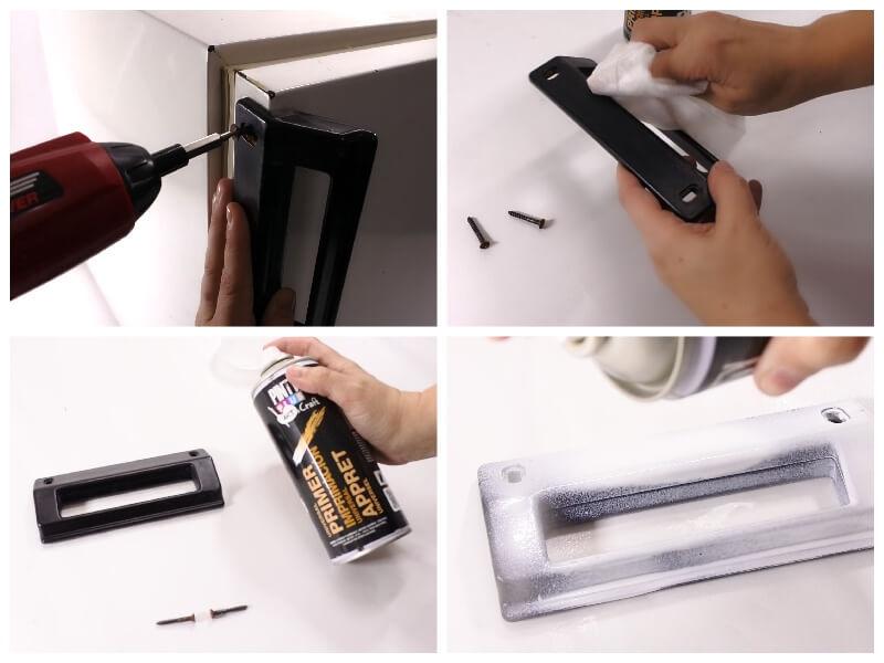 Peindre un frigidaire