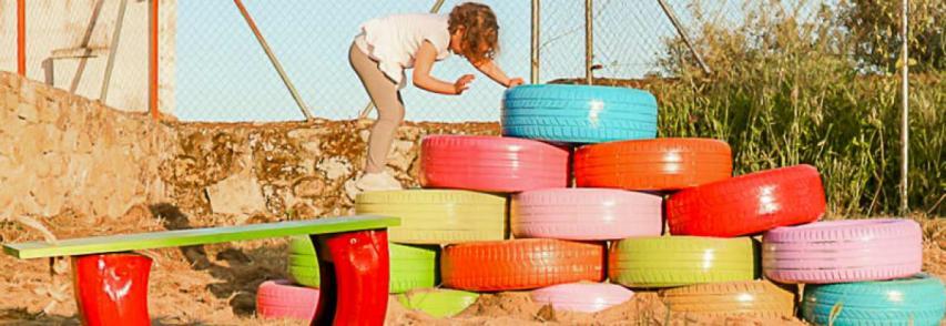 Projet de parc pour enfants avec Pintyplushelps