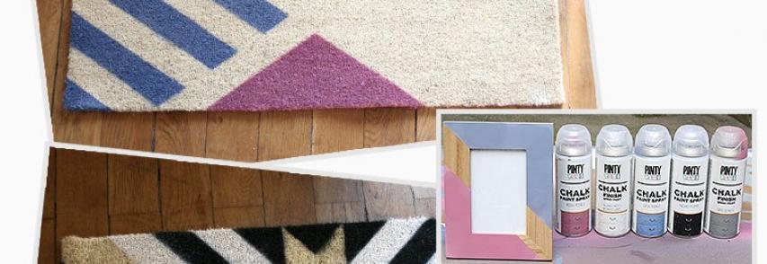 Customisation d'un tapis d'entrée
